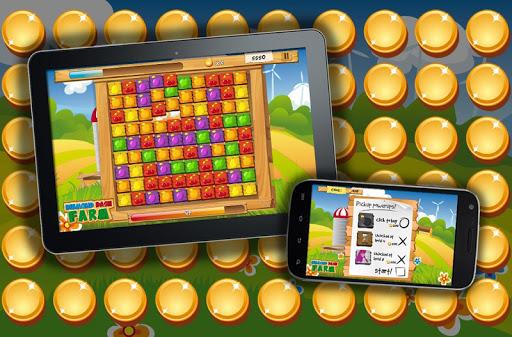 衝突鑽石農場益智遊戲