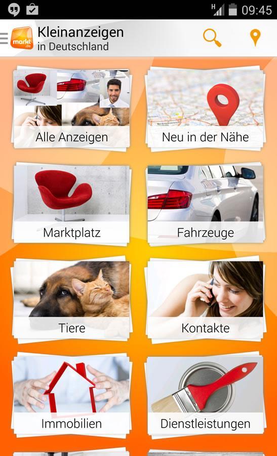 Kleinanzeigen und Flohmarkt - screenshot