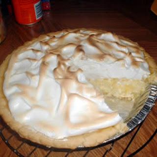 Pineapple Sour Cream Pie.
