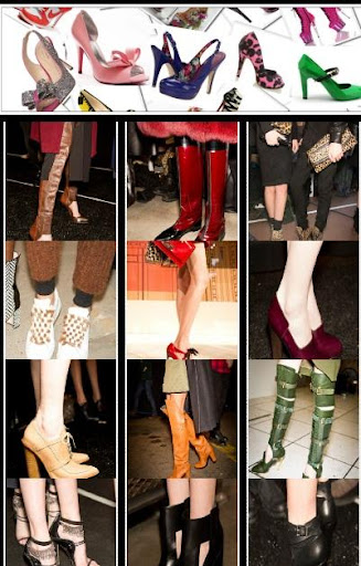 Fall Winter Fashions Shoes