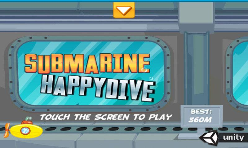 SUBMARINE HAPPY DIVE - screenshot