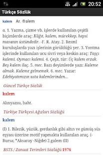 Güncel Türkçe Sözlük screenshot