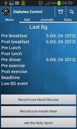 Diabetes Control Pro