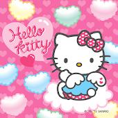 Hello Kitty Heart Colors Theme