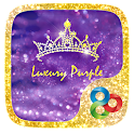 Luxury Purple GOLauncher Theme APK Cracked Download