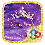 Luxury Purple Launcher Theme v1.0