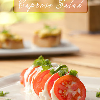 Caprese Salad - Tomato Mozzarella Basil