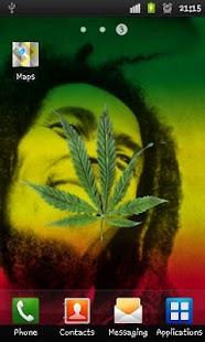 Marijuana 3D Live Wallpaper - screenshot thumbnail