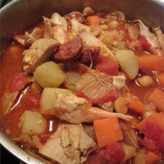 Spanish-Style Chicken Stew.