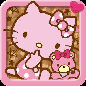ハローキティきせかえ「アニマルピンク」サンリオホーム 個人化 App LOGO-APP試玩