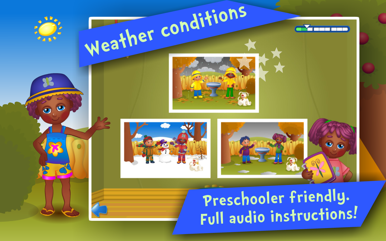 Seasons! Kids Learning games- screenshot