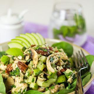 Chicken, Green Apple and Feta Salad.