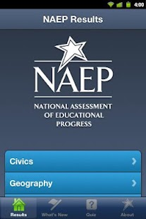 NAEP Results - screenshot thumbnail