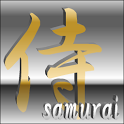 digital clock widget SAMURAI icon