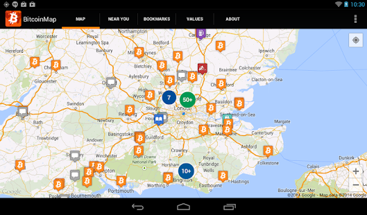 Bitcoin Map- screenshot thumbnail