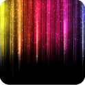 Rainbow colors Live Wallpaper icon