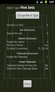 Tennis Stats - screenshot thumbnail