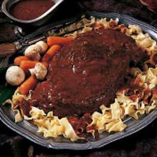 Bavarian Pot Roast.