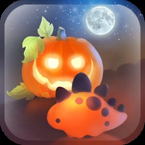 Halloween Dino 個人化 LOGO-玩APPs