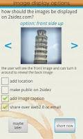 Screenshot of Dual/Double Shot Camera 2sidez