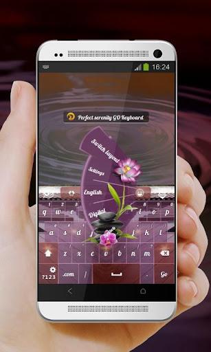 【免費個人化App】完美的寧靜 GO Keyboard-APP點子