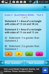 Free Grade 3 Math English 3rd - screenshot thumbnail