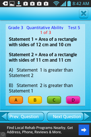Free Grade 3 Math English 3rd - screenshot