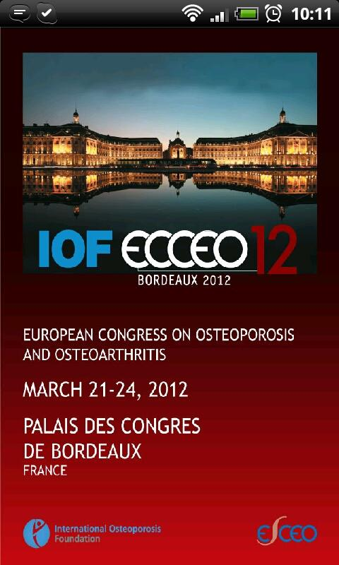 IOF‐Ecceo 2012 Congress Guide- screenshot
