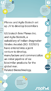 Sophie: Pharma & Biotech- screenshot thumbnail