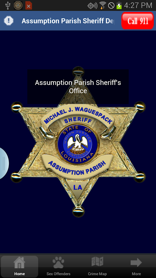 Assumption Parish Sheriff- screenshot
