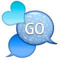 GO SMS - Dazzling Hearts 8 icon