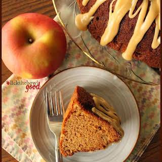 Apple Sauce Spice Bundt Cake.