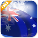 3D Australia Flag LWP icon