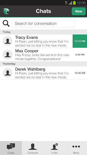 Bobsled Messaging for Tablets