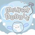 Milkcat Bubbles logo