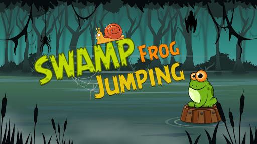 Swamp Frog Jumping