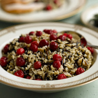 Wild & Brown Rice with Cranberries