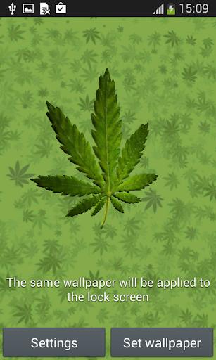 Marihuana 3D Live WallPaper