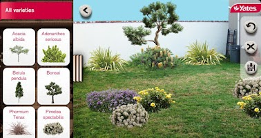 Screenshot of Yates My Garden