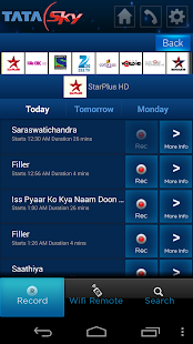 Tata Sky Mobile - screenshot thumbnail