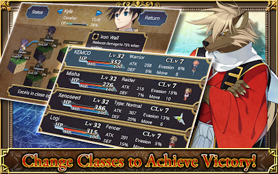 SRPG Legend of Ixtona APK screenshot thumbnail 8