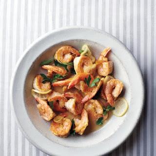 Shrimp Francese.