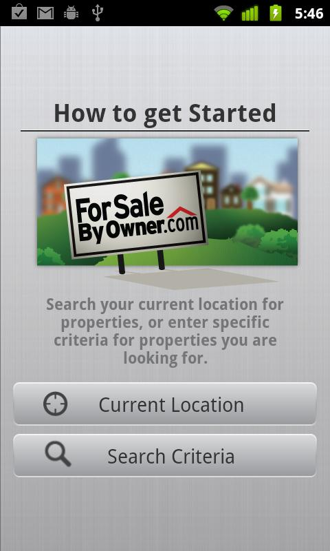 ForSaleByOwner.com Search - screenshot