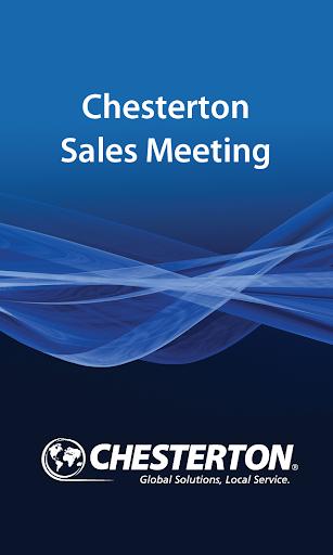 Chesterton Sales Meeting