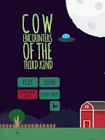 Screenshot of Aliens & Farm: The cow game