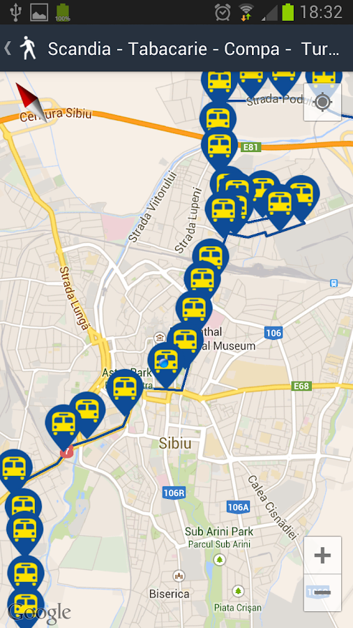 Sibiu City App- screenshot