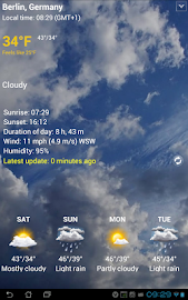 Transparent clock & weather Screenshot 21