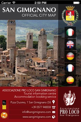 【免費旅遊App】SanGimignano-APP點子