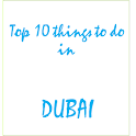 Top 10 things to do in dubai icon