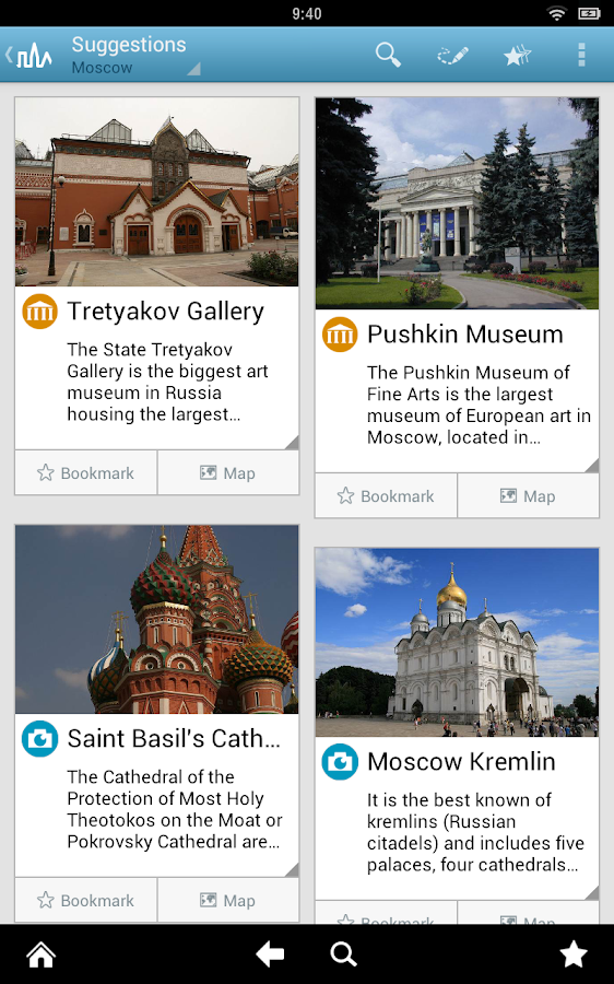 Moscow Travel Guide - screenshot